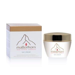 Swiss Mineral Cosmetics - cosmétiques zermatt, Cervin - day cream