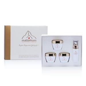 Swiss Mineral Cosmetics - cosmétiques zermatt, Cervin - coffret cadeau